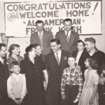Windber welcomed home Frank Kush from Michigan State in 1952.