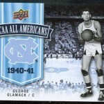 University of North Carolina Upper Deck card.