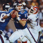 Jeff Hostetler quarterbacked the New York Giants in the Super Bowl against Buffalo.