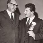 John Kasay at 1967 hall of fame banquet.