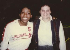 Leah Hollis, Rutgers women's volleyball.