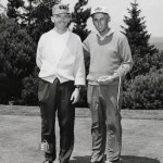 Art Wall Jr. and John Goettlicher during 1963 Sunnehanna Amateur