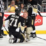 November 21, 2014 - Pittsburgh Penguins vs New York Islanders at the Consol Energy Center. New York won the game 5-4 in a shootout.