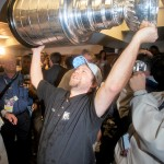 Hoisting the Stanley Cup