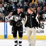January 14, 2009 - Pittsburgh Penguins vs Washington Capitals at the Mellon Arena.  Washington won the game 6-3.