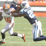 Andrew Hawkins with the Cleveland Browns vs Tennessee Titans.