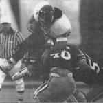 Brad Stramanak in Navy vs. Army game.