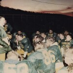 Don Bailey addresses team after practice in preparation for 1994 PIAA Class AA Western Final.